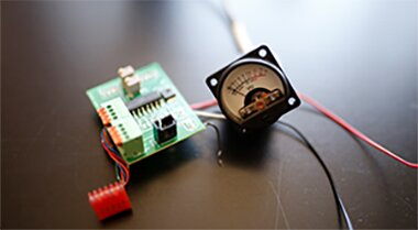 Assembly Power Meter board